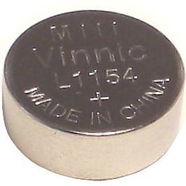 【Vinnic】LR44 / AG13 / L1154 鹼性錳鈕扣型電池11.6ㄨ5.4mm (1入)卡裝