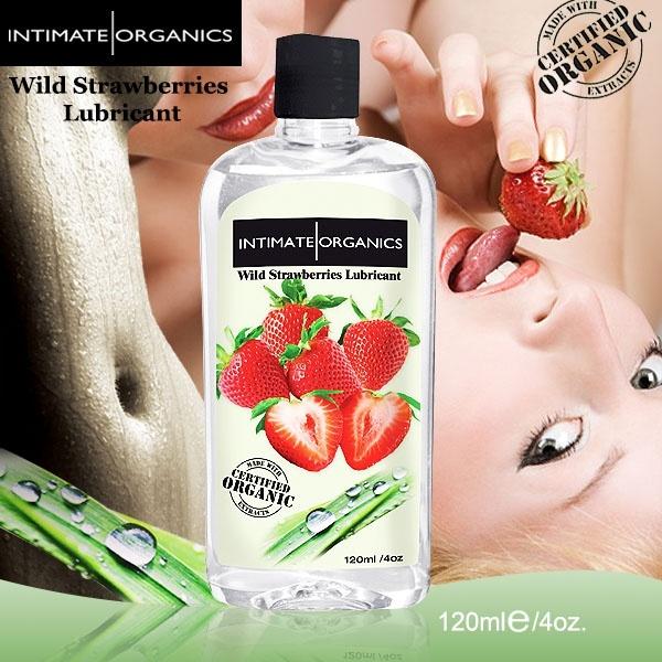 加拿大INTIMATE.水果口味熱感潤滑液-草莓(120ml)