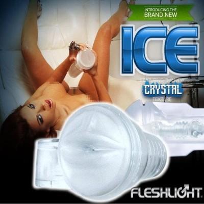 情趣用品-美國Fleshlight Ice Lady Crystal 透明冰晶美人
