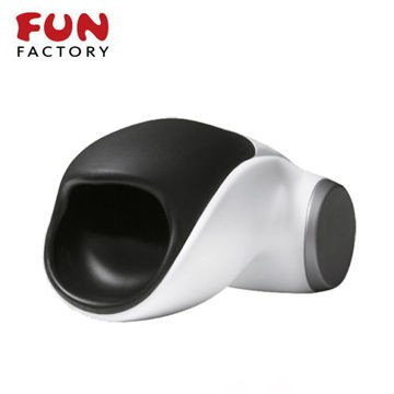 德國FUN FACTORY. 眼鏡蛇柯波拉-德國綠色科技磁吸充電式男用電動自慰器(白/黑)