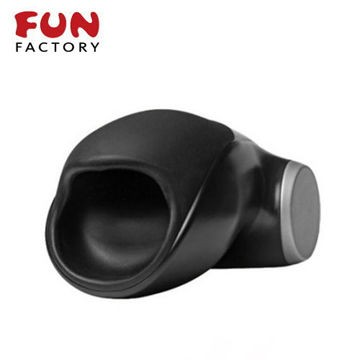 德國 FUN FACTORY MEN COBRAlibre 眼鏡蛇柯波拉─男性自愛電動按摩器(黑/黑)