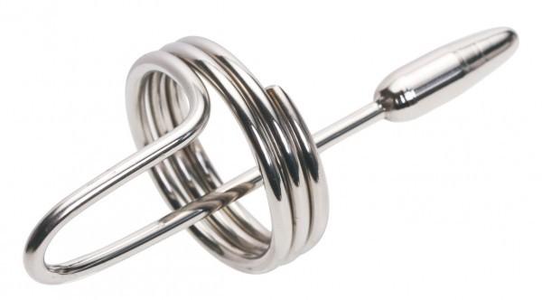 情趣用品-新款精緻馬眼不鏽鋼插棒 導尿管 另類情趣導尿堵(SM00475)珠蚌尿道堵