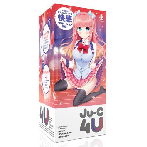 情趣用品-日本GPRO 原裝正品 G PROJECT Ju-C4U 美少女二層構造自慰套