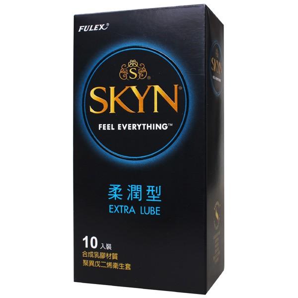 情趣用品-富力士SKYN 柔潤型光面衛生套保險套10入