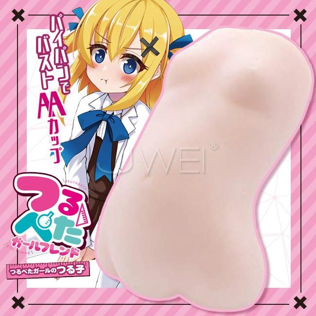 情趣用品-日本原裝進口A-ONE.つるぺた Girlfriend極細螺旋兩層結構女體造形自慰器