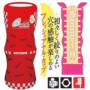 日本NPG‧Rugged Long 加長型體位杯 (女上男下體位 ) - 紅