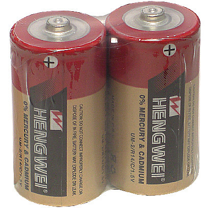 情趣用品-【HENGWEI】2號碳鋅電池(2入)