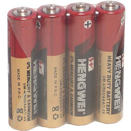 情趣用品-【HENGWEI】4號環保碳鋅電池(4顆入)