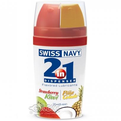 情趣用品-美國Swiss Navy‧二合一甜蜜果味潤滑液#051405
