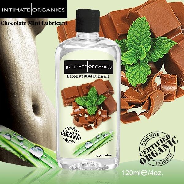 情趣用品-加拿大INTIMATE.水果口味熱感潤滑液-巧克力薄荷(120ml)