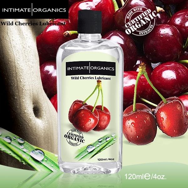 情趣用品-加拿大INTIMATE.水果口味熱感潤滑液-野櫻桃(120ml)