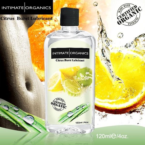 情趣用品-加拿大INTIMATE.水果口味熱感潤滑液-柑橘(120ml)
