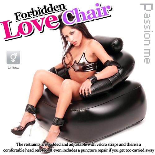 情趣用品-美國Passion‧Me-SM 充氣情趣椅-可承受139KG#565189