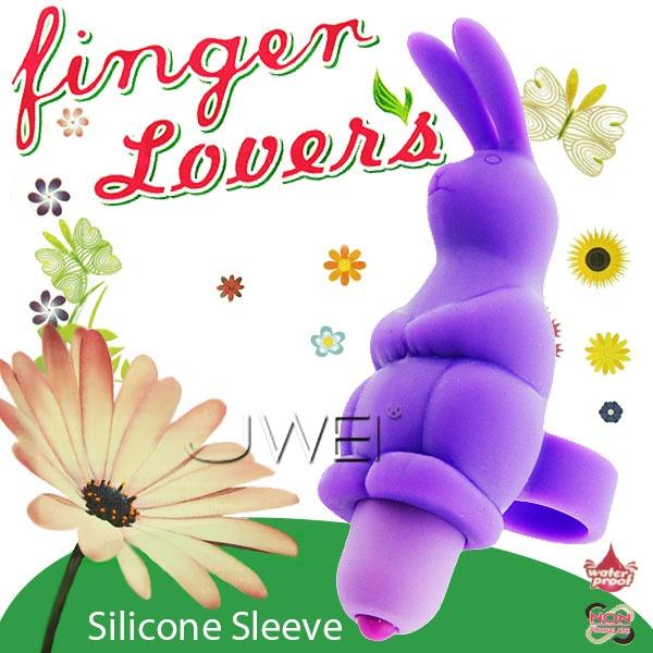 情趣用品-Finger Lover 手指情人10段變頻防水造型兔蛋