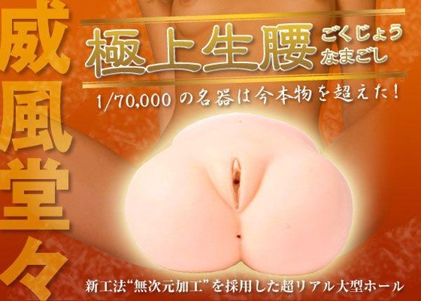 情趣用品-日本原裝進口 究極雙穴名器の品格.極上生腰