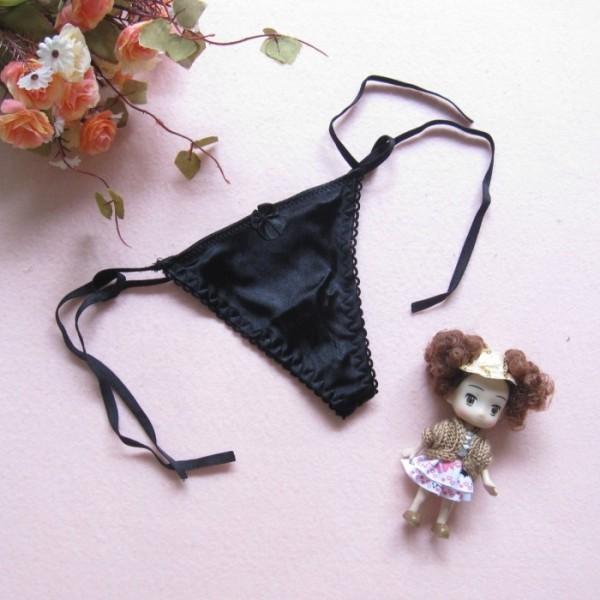 情趣用品-一見傾心 透明誘惑性感內褲綁帶比基尼丁字褲