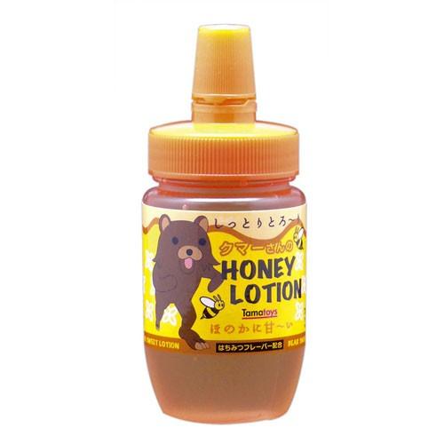 情趣用品-日本Tama Toys*クマーさんのHONEY LOTION-蜂蜜口味潤滑液_120ML