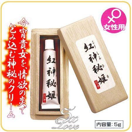 情趣用品-日本原裝進口.紅神秘姬(5g) 威而柔高潮凝膠