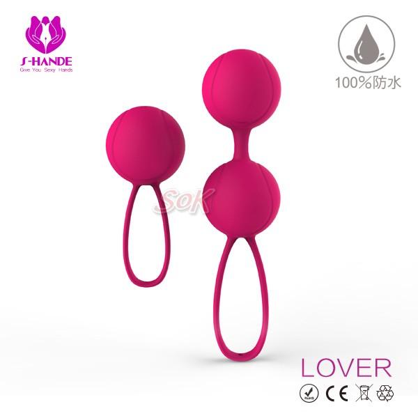 情趣用品-香港S-HANDE 落菲爾  LOVER 全包膠網球型設計聰明球-人體工學滾珠