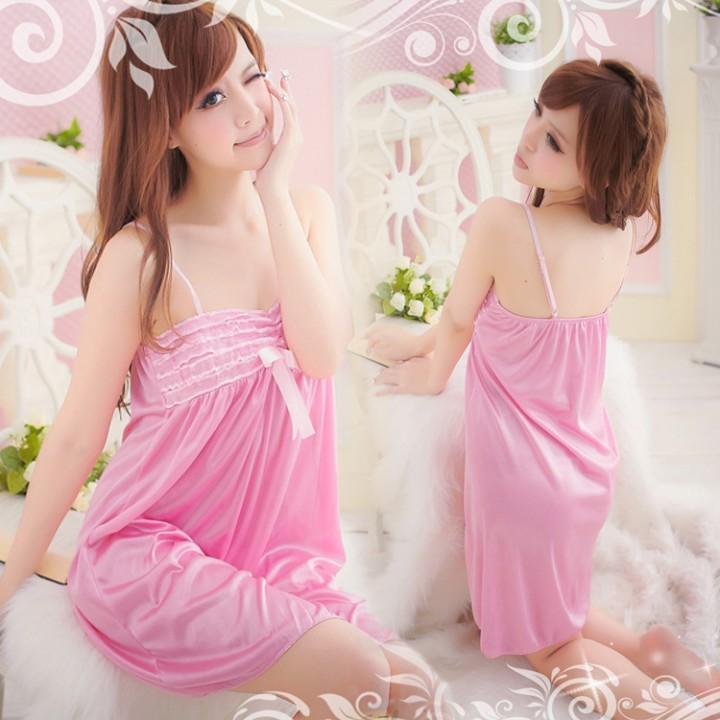 情趣用品-玉潔冰清 夢幻蕾絲邊公主睡衣套裝-兩件組