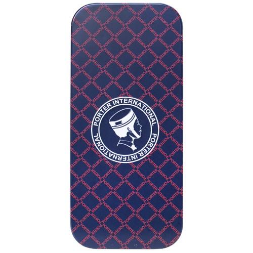 情趣用品-杜蕾斯 Porter超薄裝衛生套 更薄型12入 聯名鐵盒裝(紅格子)
