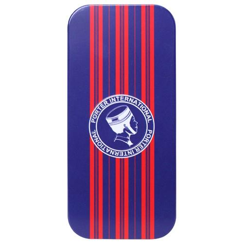 情趣用品-杜蕾斯 Porter超薄裝衛生套 更薄型12入 聯名鐵盒裝(紅直條)