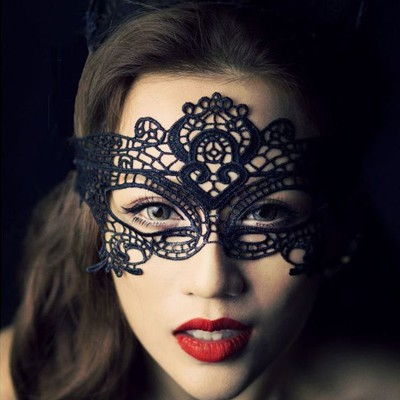 情趣用品-夜艷女神 時尚性感化裝舞會面具