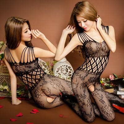 情趣用品-魅惑挑逗 性感連身貓裝網衣