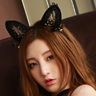 情趣用品-貓物語 可愛鈴鐺貓耳朵頭飾