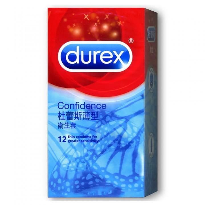 情趣用品-【杜蕾斯Durex】薄型裝保險套衛生套安全套避孕套12入