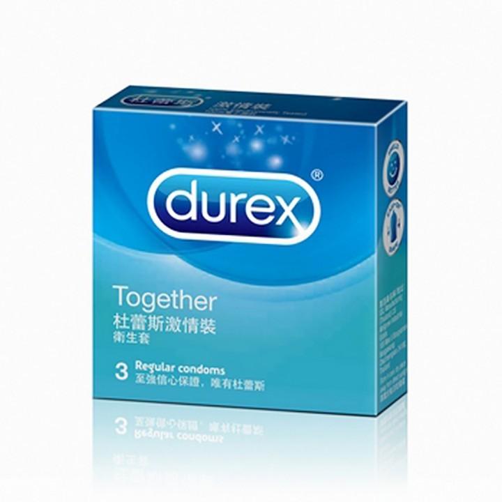 情趣用品-【杜蕾斯Durex】激情裝保險套衛生套安全套避孕套3入