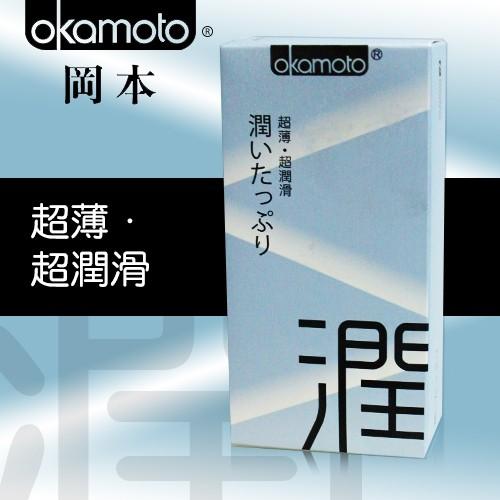 情趣用品-okamoto岡本City城市時尚超薄系列 極潤型衛生套保險套10片