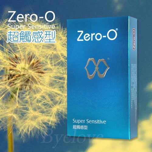 情趣用品-ZERO-0零零 超觸感型衛生套保險套12片