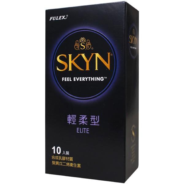 情趣用品-富力士SKYN 輕柔型光面衛生套保險套10入